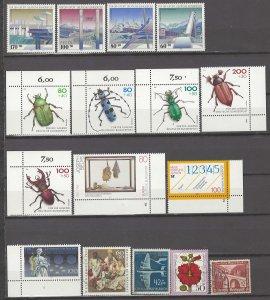 COLLECTION LOT # 4169 GERMANY  SEMI POSTAL 16 MOSTLY MNH STAMPS 1936+ CV+$22