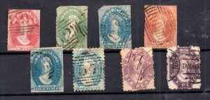 Tasmania QV unchecked Chalon used collection WS15907