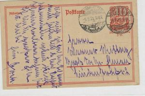 German Postal History Stamps Postcard Ref: R4870