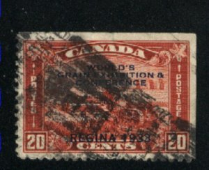 Canada #203   used   VF  PD
