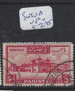 PAKISTAN (P2004B)  5R  AIRPORT  SG 40A   VFU