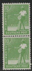 Germany AM Post Scott # 560, mint nh, pair