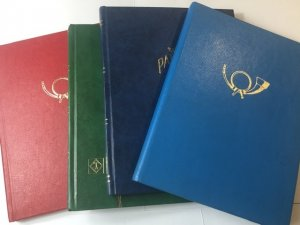 4 Small International Stamp Stock Books Full Of Stamps Might Find Gem