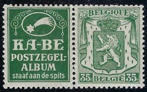 RK108 Belgium with ad label BIN $3.00