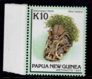 Papua New Guinea Scott 840  MNH** 10K Malanggan mask 10K stamp