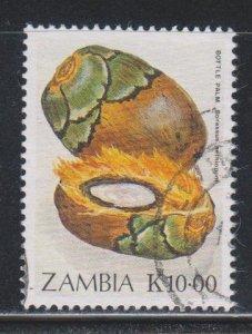 Zambia, 10k Wild Fruits (SC# 477) Used
