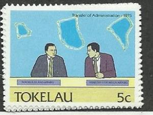 Tokelau Islands #151  Transfer of Administration (MNH) CV$0.25