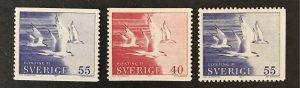 Sweden 1971 #886-88 MNH, CV $1.60