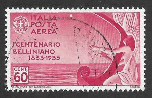 Doyle's_Stamps: Pristine Used 1935 Italian Airmail Issue, #C81
