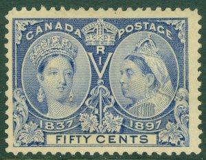 EDW1949SELL : CANADA 1897 Scott #60 Mint No Gum. Nice stamp. Catalog $375.00.