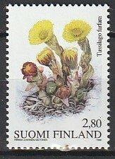 1998 Finland - Sc 1073 - MNH VF - 1 single - Tussilago Farfara