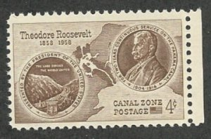 Canal Zone 150  MNH