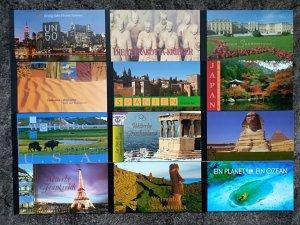 United Nation Vienna - world heritage - 12 booklets ** MNH