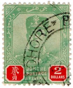(I.B) Malaya States Revenue : Johore Duty $2