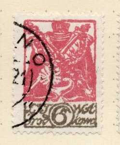 LITHUANIA 1920-22 Early Issue Fine Used 6m. NW-07175