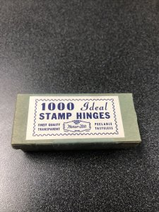 1000 Ideal Stamp Hinges