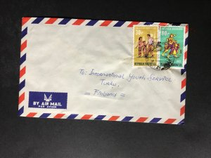Indonesia #780//B242 Cover to Finland (1970-1999) Cover #5272