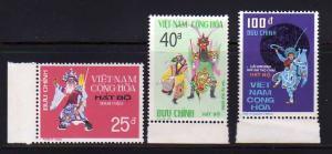 South Vietnam 509-511 Set MNH Theater Costumes (B)