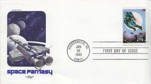 United States, First Day Cover, Space