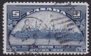 Canada # 202, Government Buildings, Used ,Third Cat