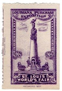 (I.B) US Cinderella : Louisiana Purchase Exposition (Monument)
