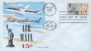 C58 15c AIRMAIL- Fluegel