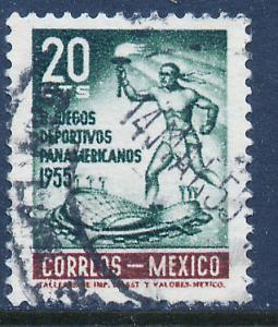 MEXICO 890, 20c Second Pan American Games. Used. (1068)