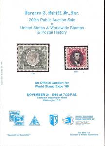 United States, Worldwide Stamps & Postal History, Schiff 200