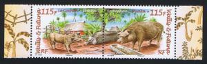 Wallis and Futuna Puaka the Pig 2v pair SG#949-950 MI#948-949KB