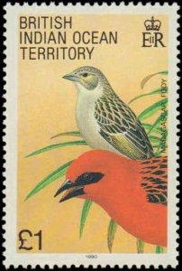 1990 British Indian Ocean Territory #94-105, Complete Set(12), Never Hinged