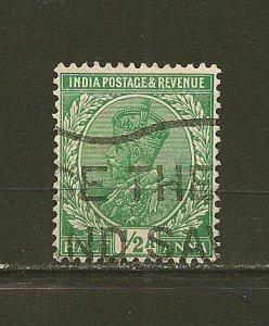 India 107 King George V  Used