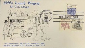 Jane Weedle COLOPEX 91 Columbus, OH 2464 Lunch Wagon