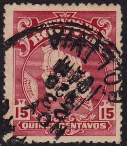 Bolivia - 1928 - Scott #191 - used - Map