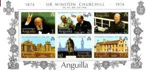 Anguilla  198 S/S MNH SCV $2.25