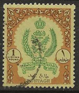 Libya 205A [u] CV $18.00 ag17