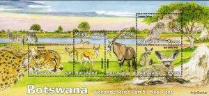 Botswana - 2019 Wetlands Nxai Pans MS MNH**