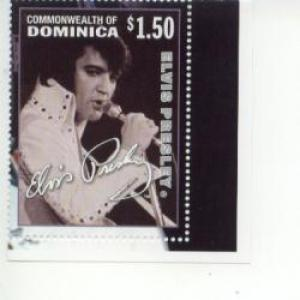 2002 Dominica Elvis Presley (Scott 2396) MNH