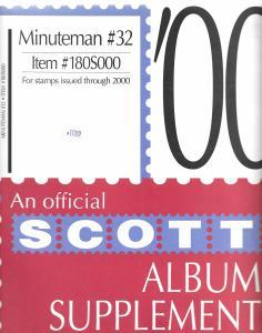 Scott Minuteman #32 Supplement 2000