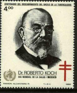 MEXICO 1271, TB Bacillus Centenary and World Health Day MNH