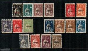 Azores #173//194  Mint  Scott $34.10