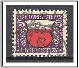 Switzerland #B45 Semi-Postal Used