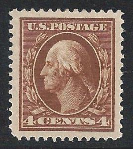 Scott #377, Unused, 1910-13 Single-line Watermarks