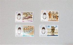 Kenya - 72-75, MNH Set. Black and African Festival Emblem. SCV - $3.40