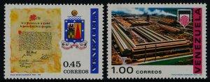 Venezuela 945-6 MNH Crest, Industrial Complex