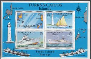 Turks & Caicas Islands, Sc 341a, MNH, 1978, Turk Island Passage