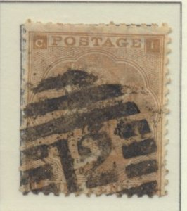 Great Britain Stamp Scott #40, Used - Free U.S. Shipping, Free Worldwide Ship...