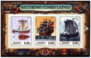 Estonia 1997 #323 MNH. Historical ships