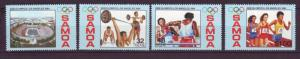 J10956 Jlstamps 1984 samoa set mnh #629-32 sports