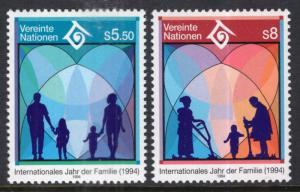 UN Vienna 160-161 MNH VF