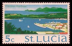 St. Lucia 264 Mint VF HR